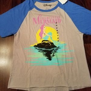 DISNEY LITTLE MERMAID shirt